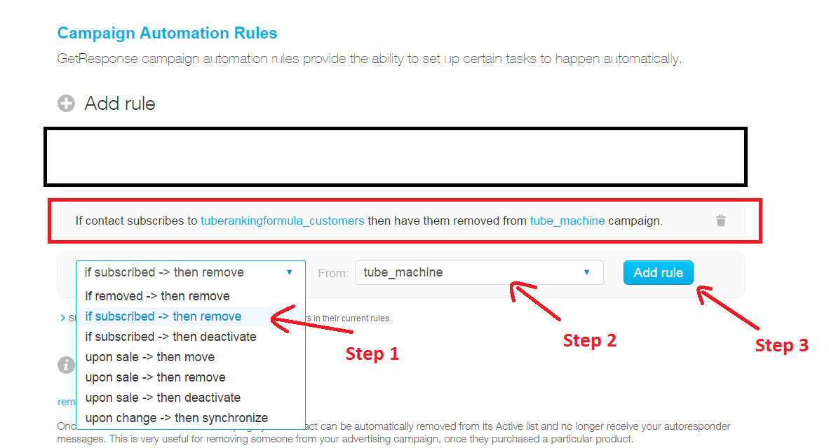 Campaign Automation Rules